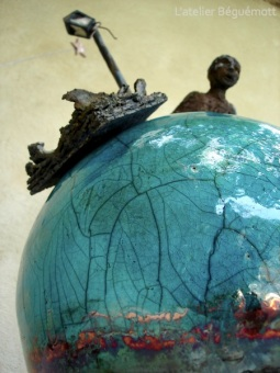 raku sculpture ceramique