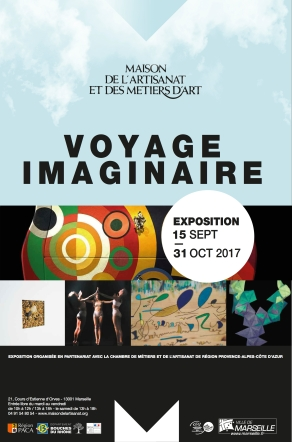 Affiche - Voyage Imaginaire bleu ok (1)